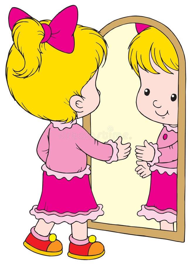 Specchio illustrazione vettoriale