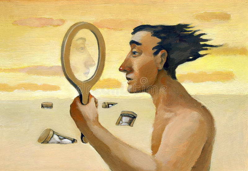 specchio royalty illustrazione gratis