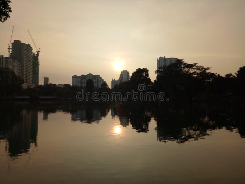 Specchio del lago fotografie stock libere da diritti