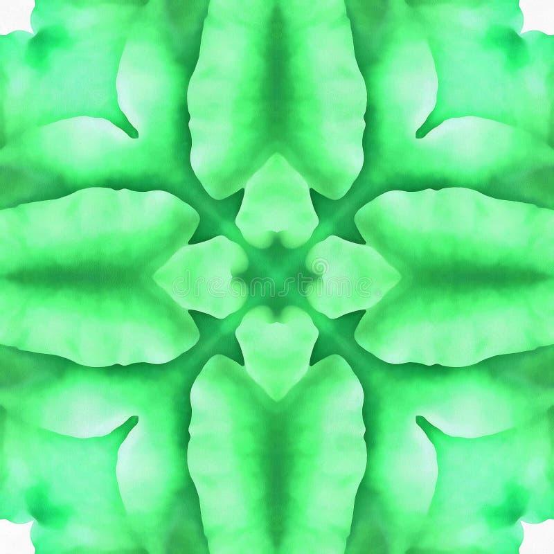 Specchio del segno di frattale del batik immagini stock