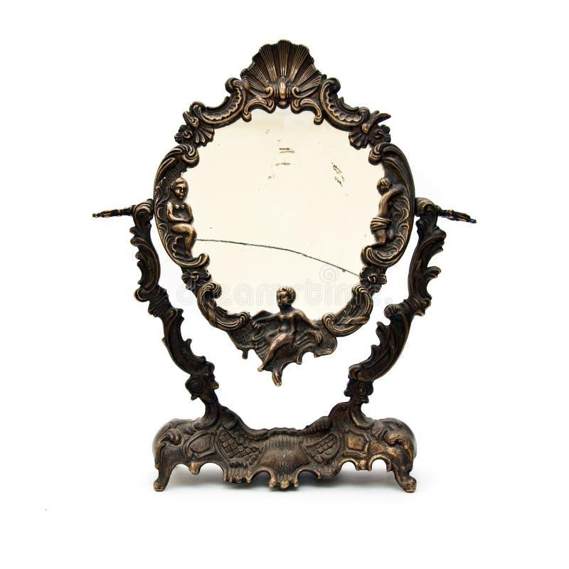 Specchio dell'annata immagini stock