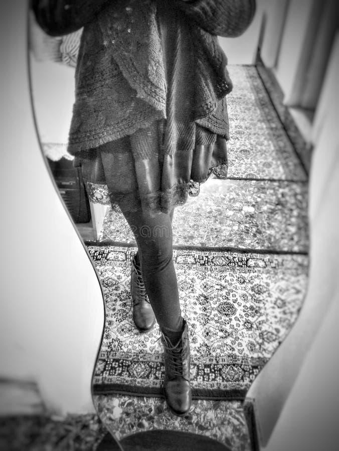 Specchio dello specchio fotografie stock