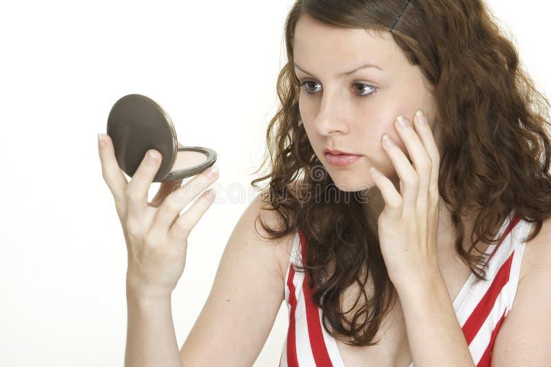 Specchio dello specchio fotografia stock libera da diritti