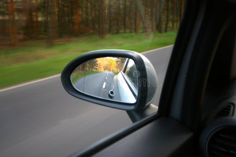 Specchio di ala immagine stock