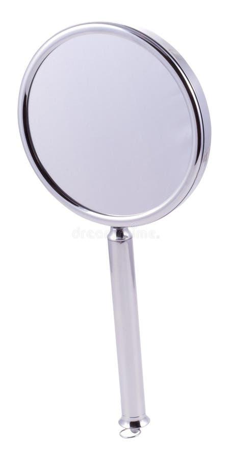 Specchio di mano immagini stock