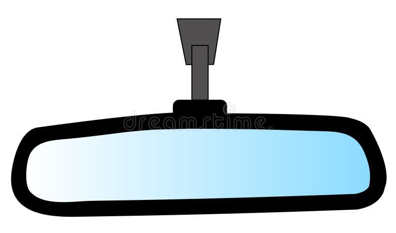 Specchio di Rearview illustrazione vettoriale