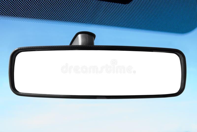 Specchio di retrovisione immagine stock libera da diritti