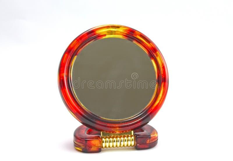 Specchio rotondo fotografia stock libera da diritti