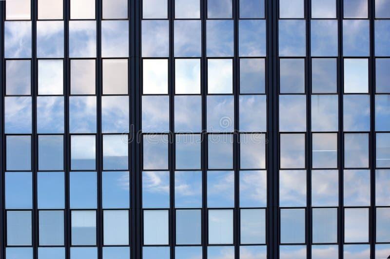 Specchio Windows fotografia stock