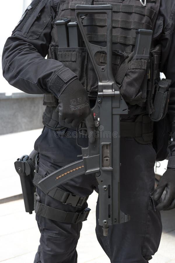 Speciaal het wapendetail van de Krachtmilitair stock foto's
