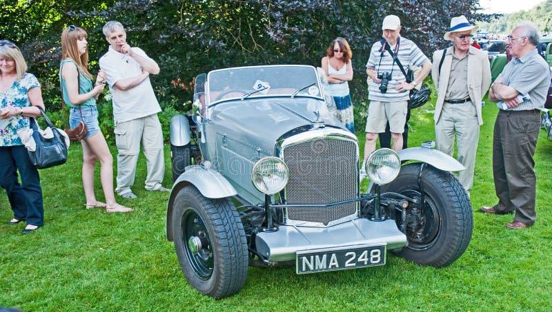 Special 1951 de Bentley en el castillo de Brodie imagenes de archivo