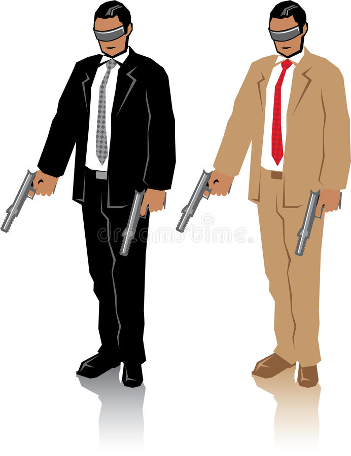 Special Agent. Illustrations clip-art vector vector illustration