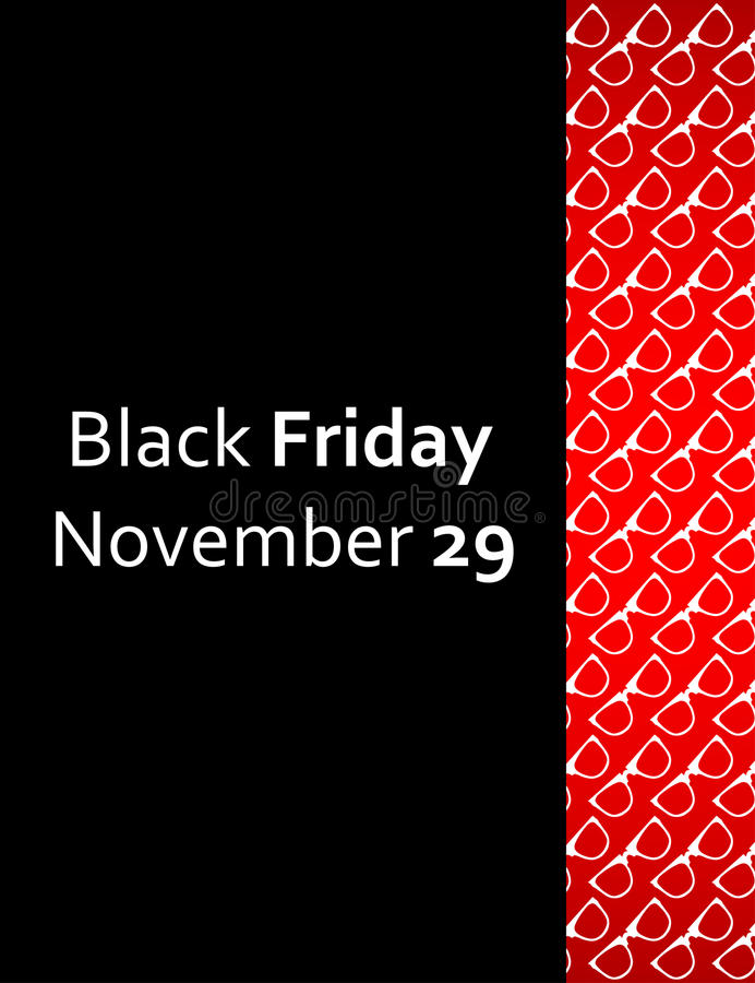 Download Special black friday flyer stock vector. Image of information - 33725172