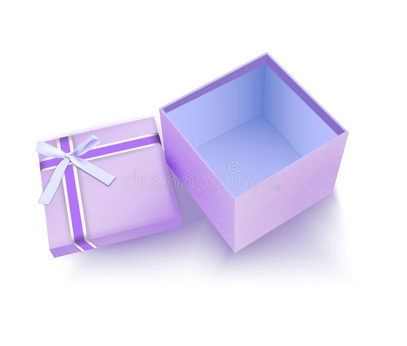 Special christmast gift box image stock photo