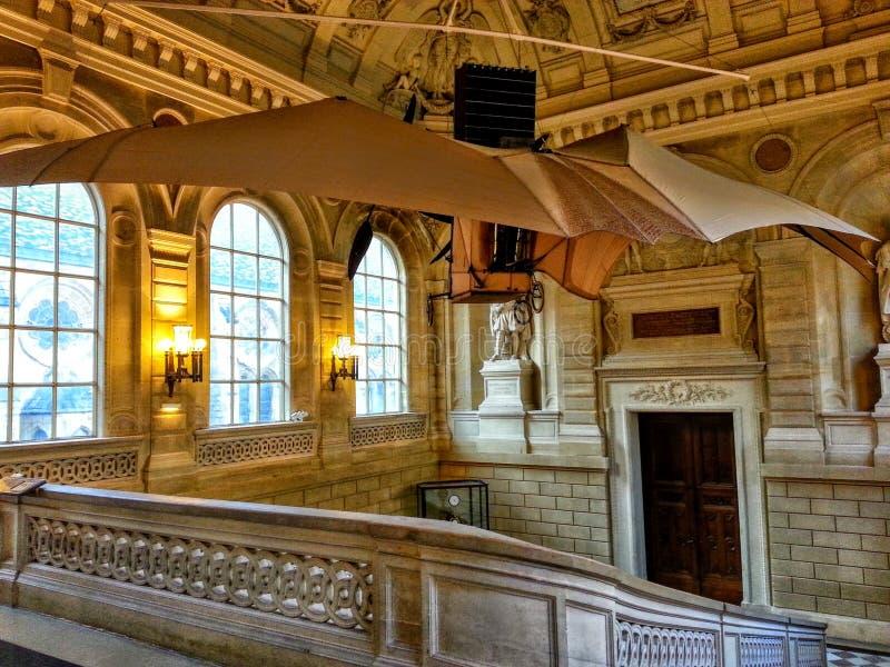 Museum of arts and crafts Paris stock photo