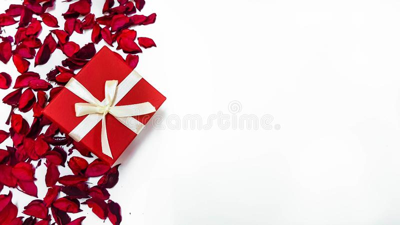 Special Day Gift for someone special with space for quotes royalty free stock image