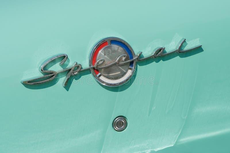 Special de Buick 1957 photo libre de droits