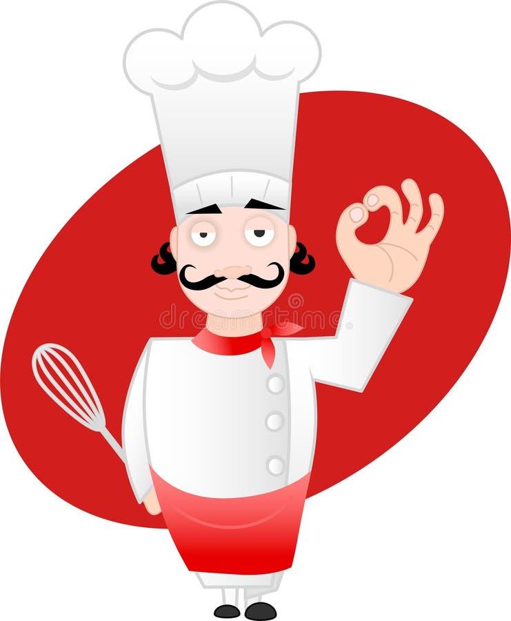 Special del cocinero ilustración del vector