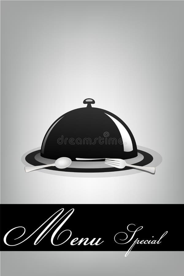 Special del menu illustrazione di stock