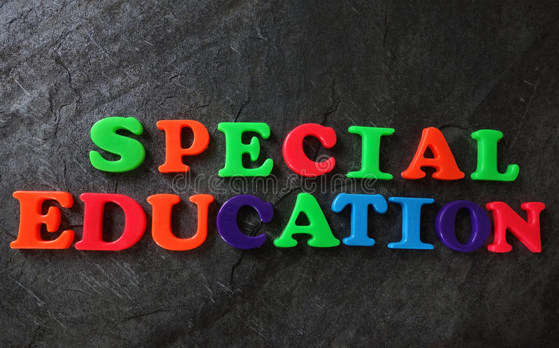 Special Education concept royalty free stock images
