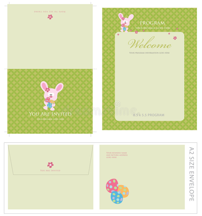 Download Special Event Templates And Envelope Stock Vector - Image: 9083173