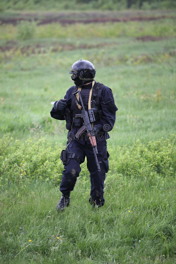Download Special force soldier stock photo. Image of protection - 19844504