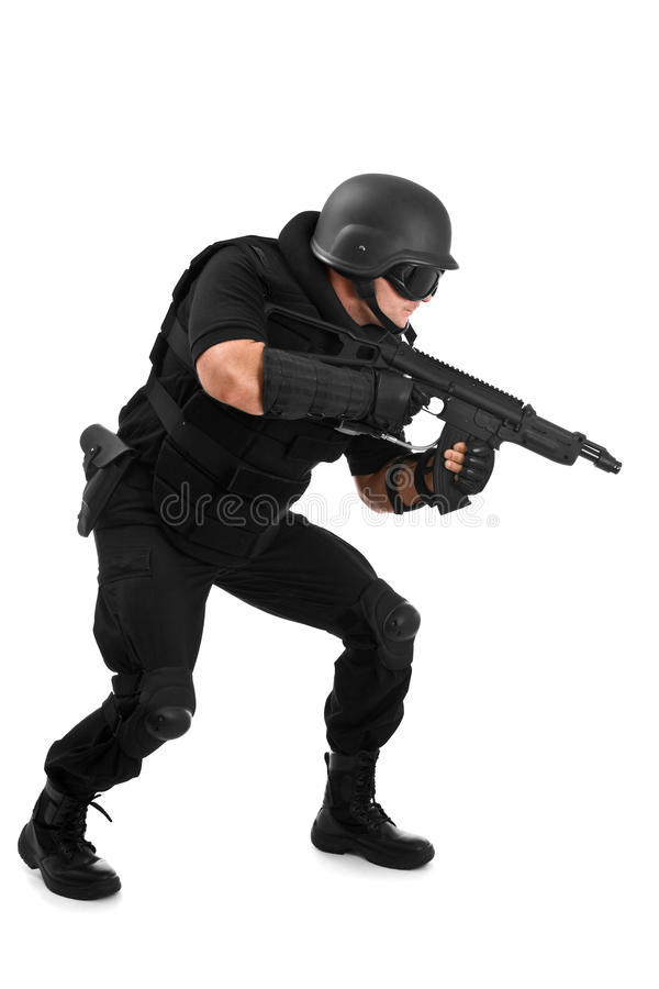Special forces royalty free stock photos