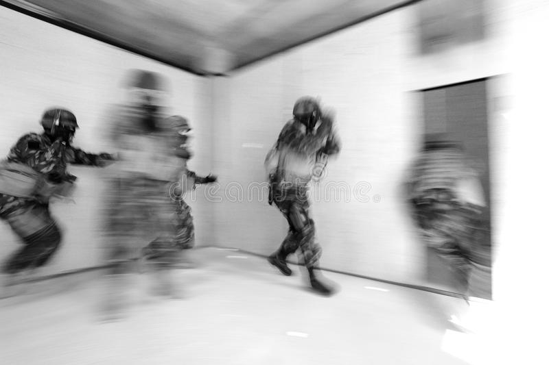 Special Forces stock image