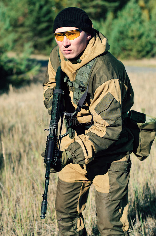 Free Special Forces Assault Royalty Free Stock Photo - 61707265