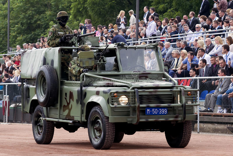 Download Special Forces Jeep On Parade Editorial Image - Image: 19888875