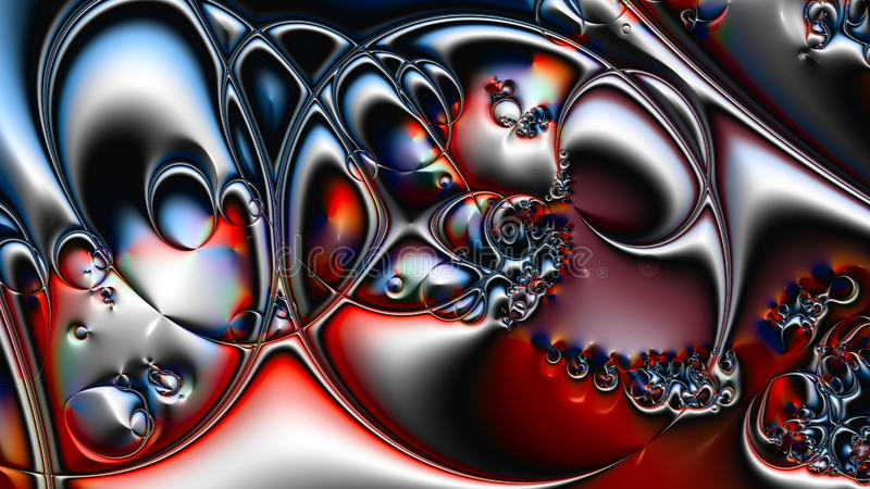 Art of fractal royalty free stock photography
