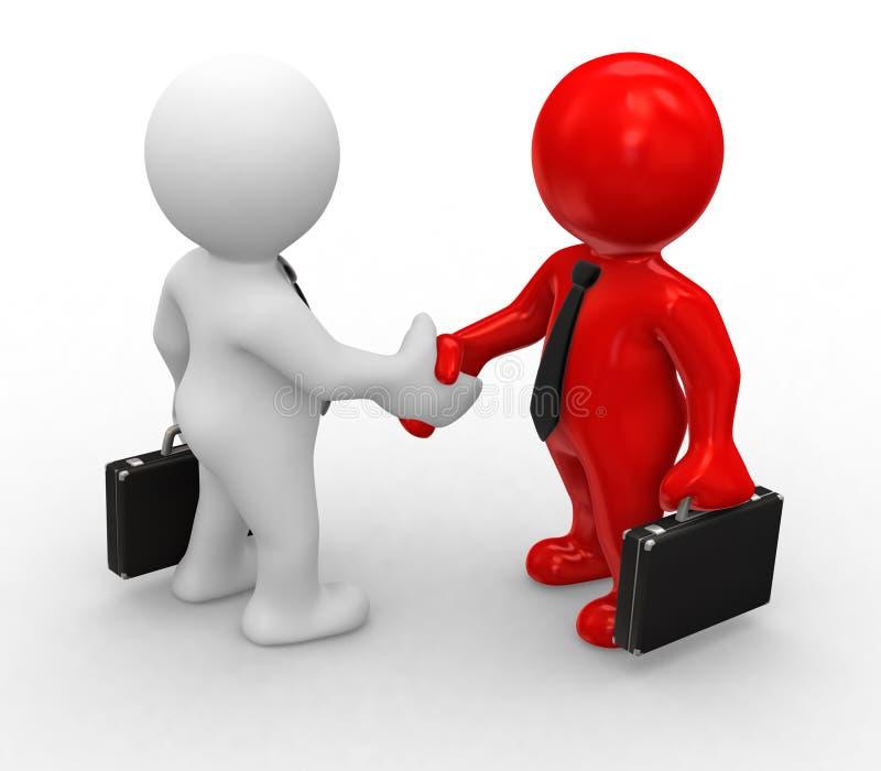 Download Special handshake stock illustration. Illustration of special - 4253946