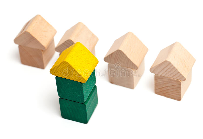 Special house royalty free stock photo