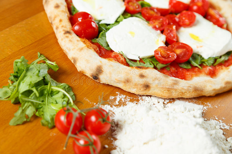 Special italiano de la pizza fotos de archivo libres de regalías