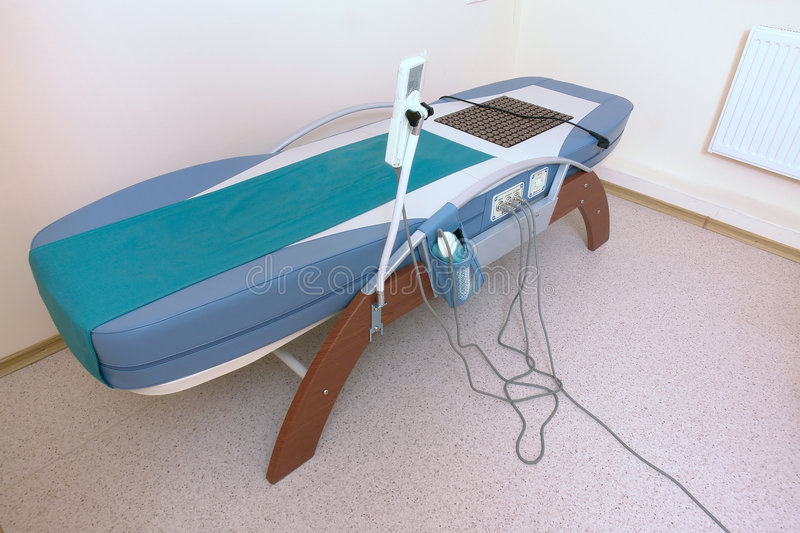 Download Special massage bed stock image. Image of clinic, laser - 3560493