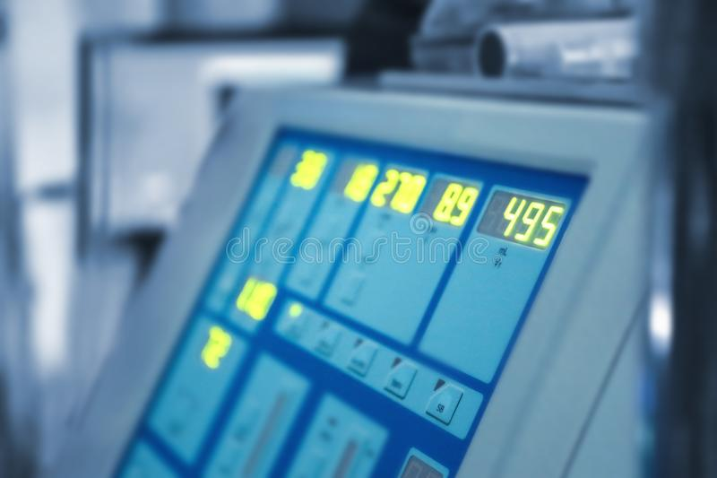 Special medical equipment in modern clinic royalty free stock photography