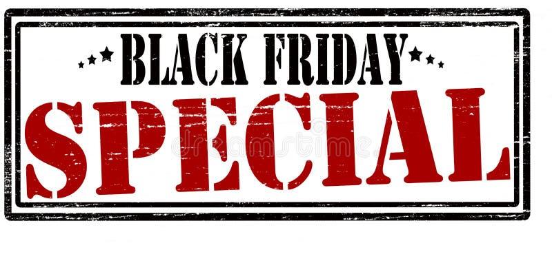 Special negro de viernes ilustración del vector