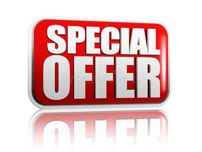 Special offer royalty free illustration