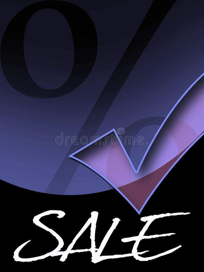 Special offer. With hook and per cent vector illustration