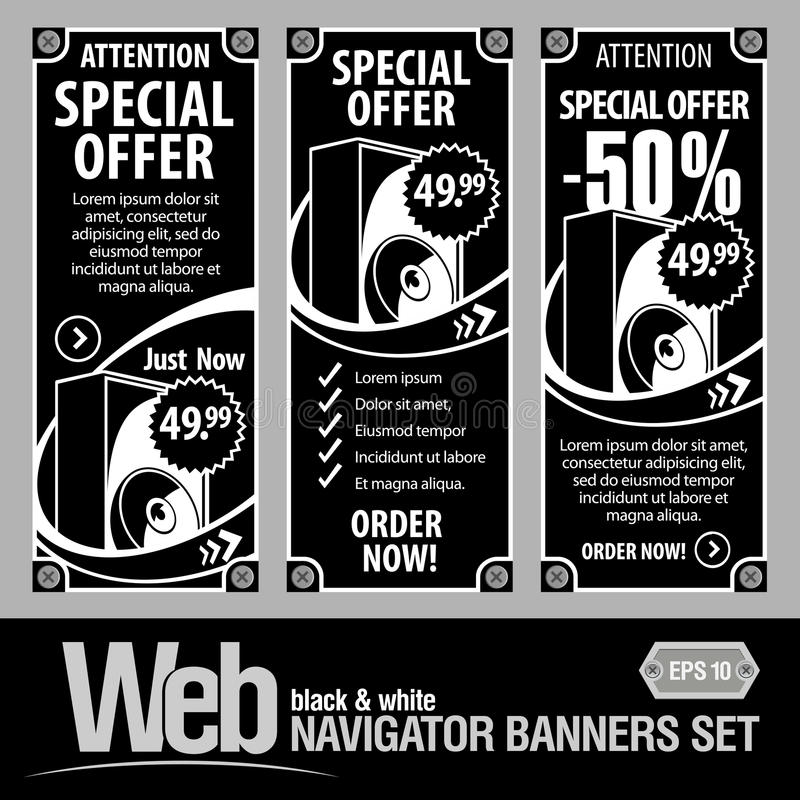 Download Special Offer Banner Set Vector Stock Vector - Image: 23835495