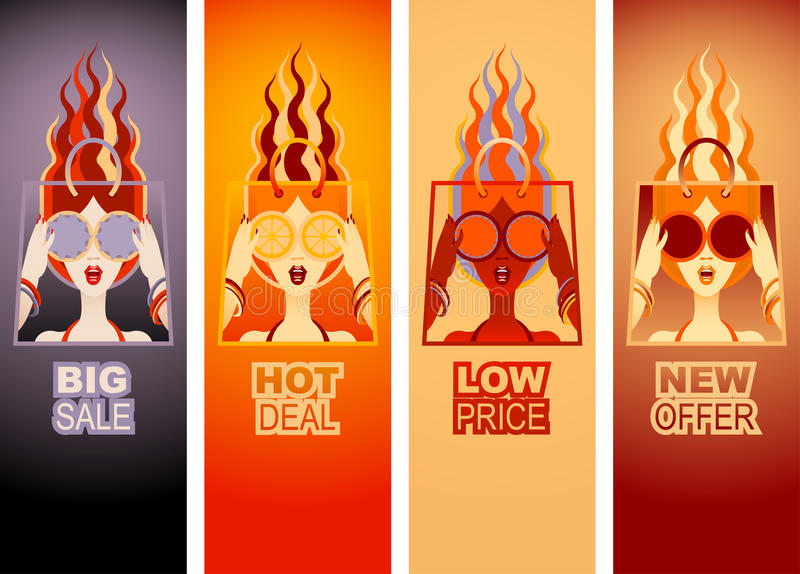 Special Offer Banners vector illustration