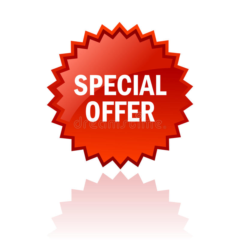Free Special Offer Icon Stock Photo - 24135230