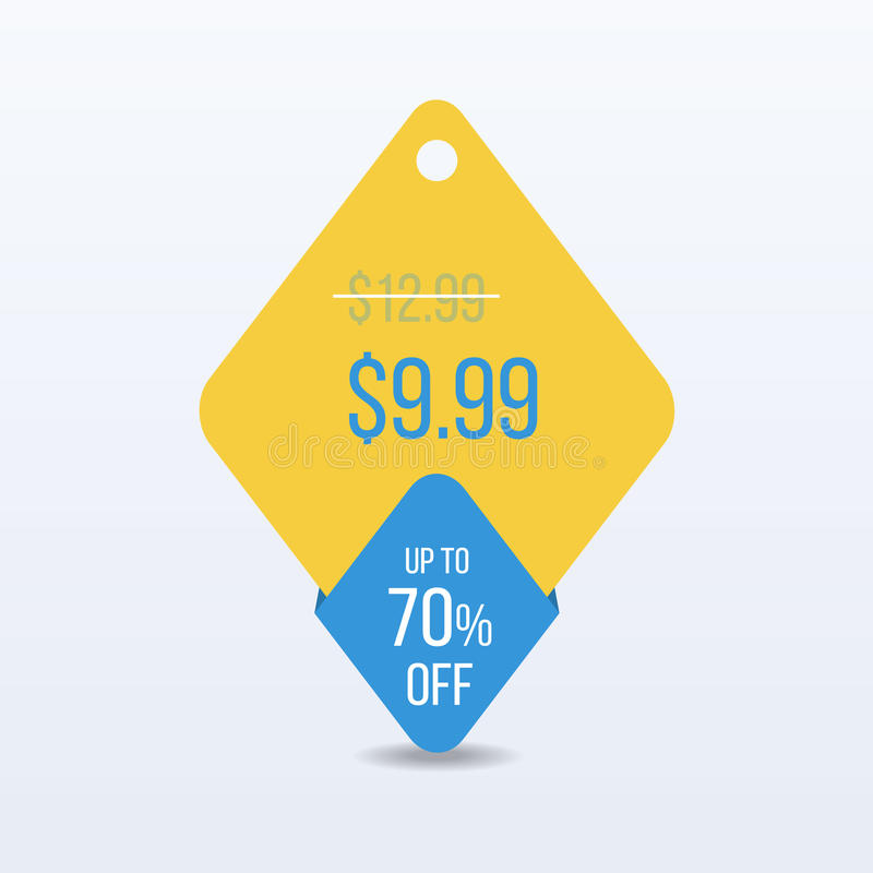 Special offer sale tag discount symbol retail sticker sign price. VECTOR. vector illustration