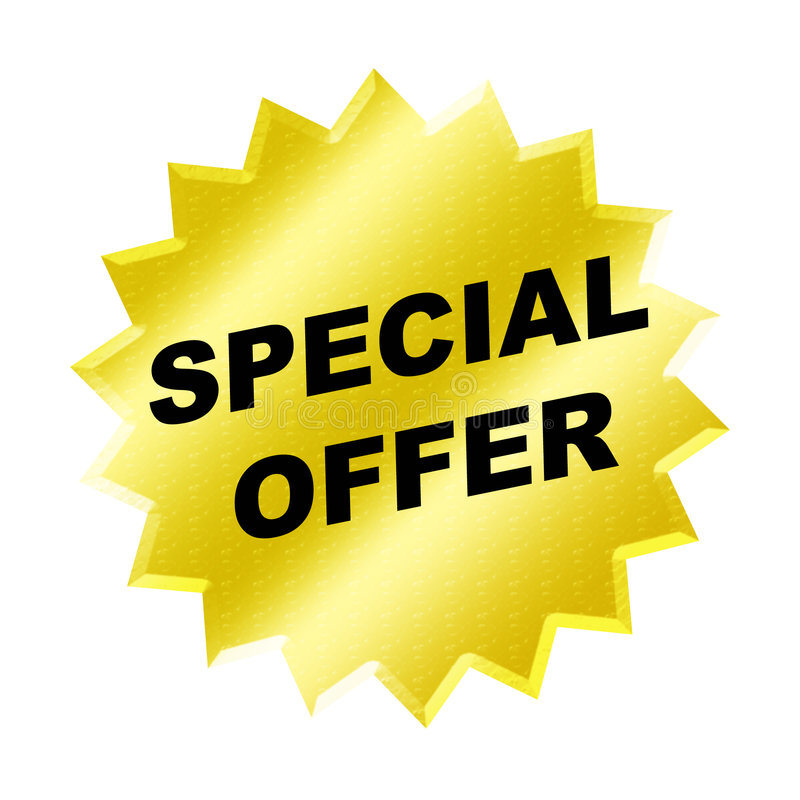 Special Offer Sign stock illustration