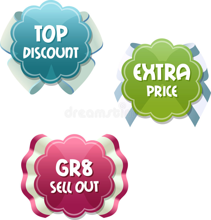 Free Special Offer Tags Royalty Free Stock Photo - 5424085