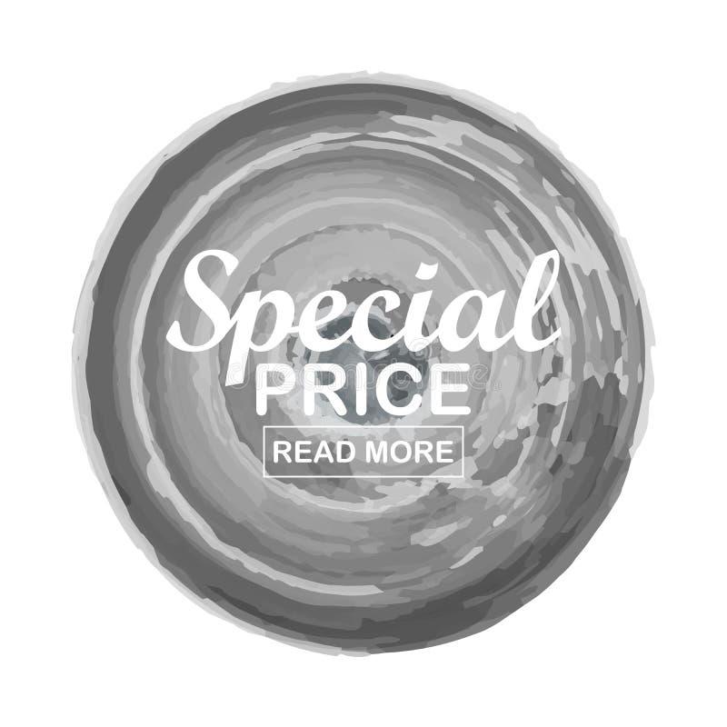 Special offer vector design template. Banner sale tag. Market special offer discount label stock illustration