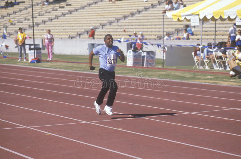 Download Special Olympics Athletes Running Race, Editorial Image - Image of united, america: 26904775