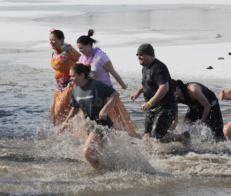 Download Special Olympics Nebraska Polar Plunge Editorial Image - Image of event, lake: 29263785