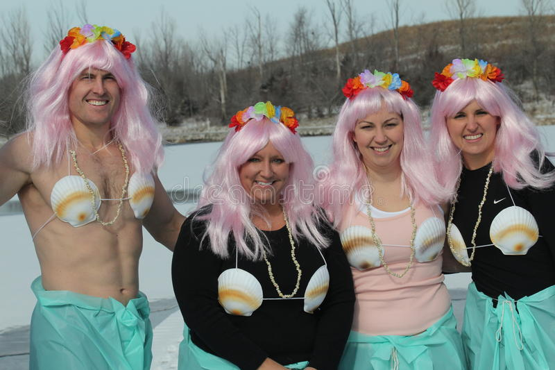 Download Special Olympics Nebraska Polar Plunge With Costumed Participants Editorial Stock Photo - Image: 29263908