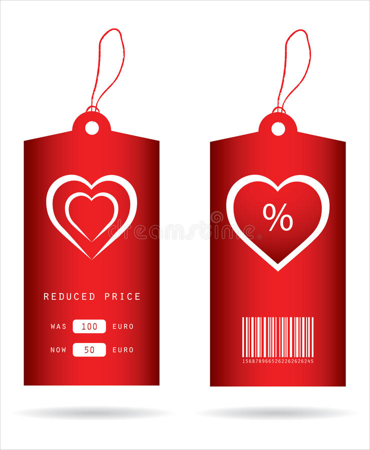 Special price tags vector illustration